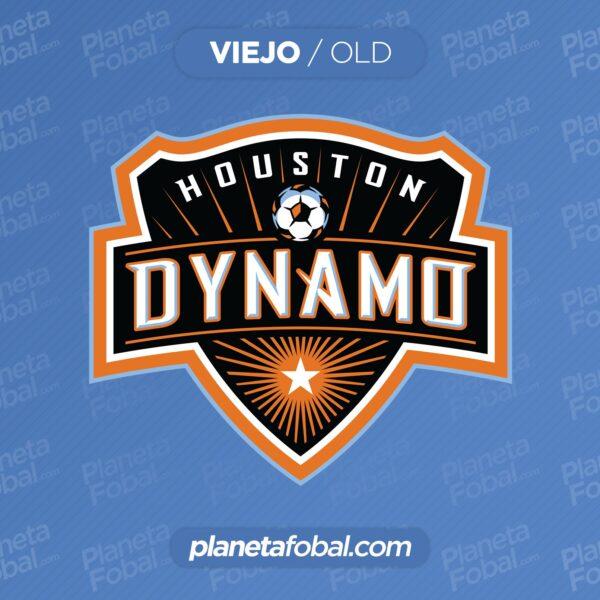 Viejo escudo del Houston Dynamo   Imagen Web Oficial