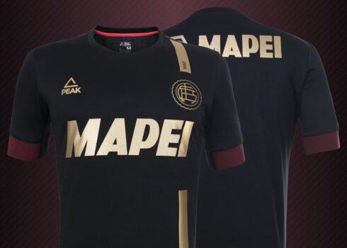 Tercera camiseta Peak de Lanús 2020/2021 | Imagen Web Oficial