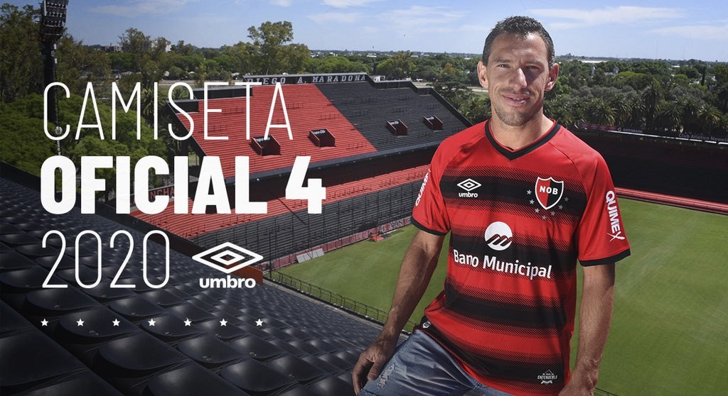Cuarta camiseta Umbro de Newell's 2020/21 | Imagen Twitter Oficial