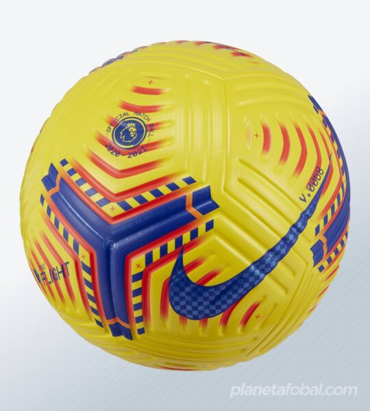 Balón Flight Hi-Vis Premier League 2020/21 | Imagen Nike