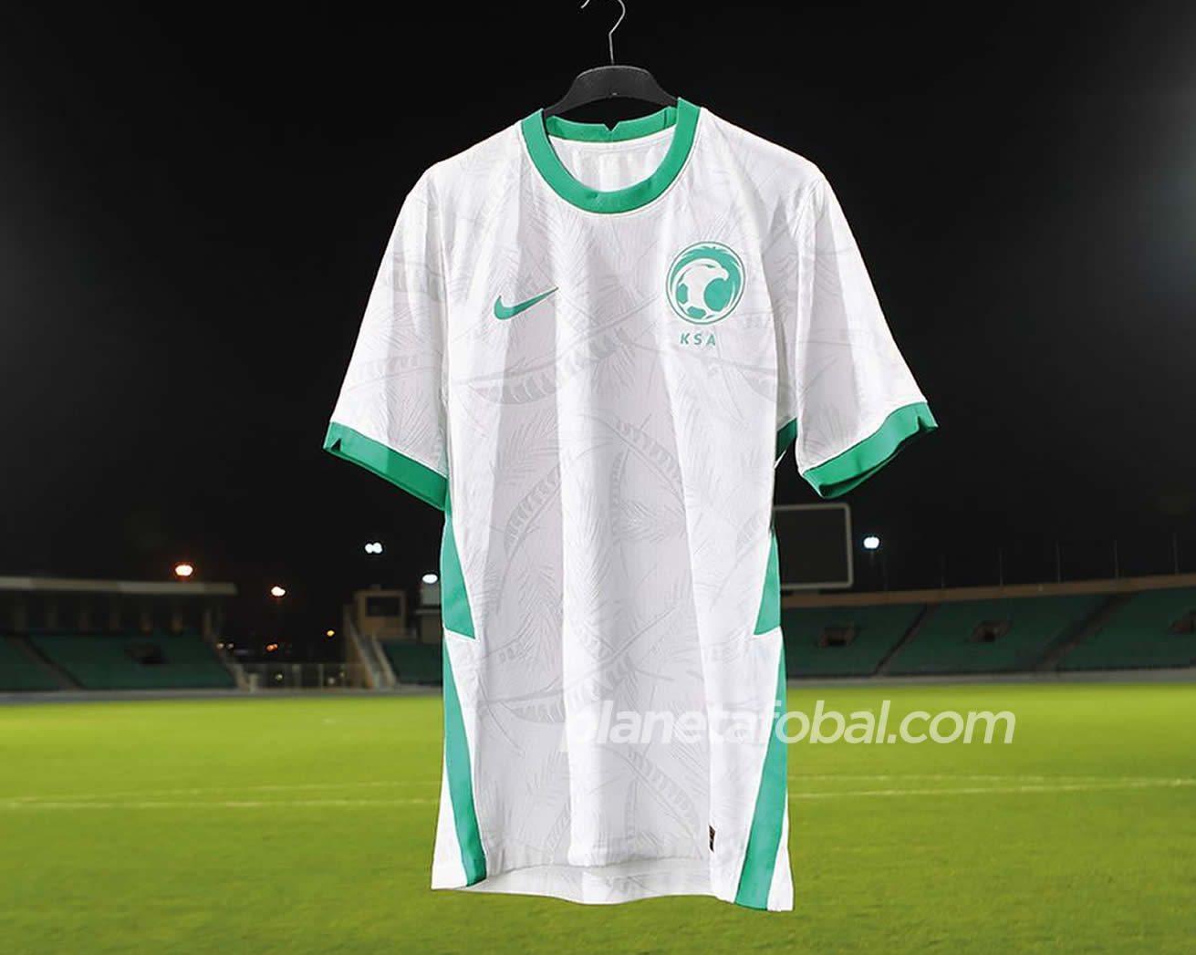Camisetas Nike de Arabia Saudita 2020/2021 | Imagen SAFF