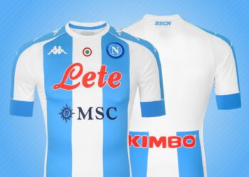 "Camiseta Kappa del Napoli ""Tributo a Maradona"""