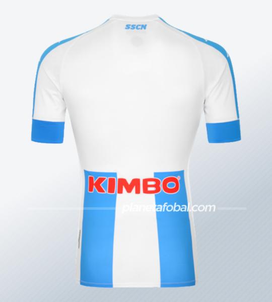"Camiseta Kappa del Napoli ""Tributo a Maradona"" | Imagen Web Oficial"