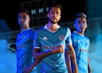 Camiseta alternativa Kappa de Vélez Sarsfield 2020/2021 | Imagen Twitter Oficial