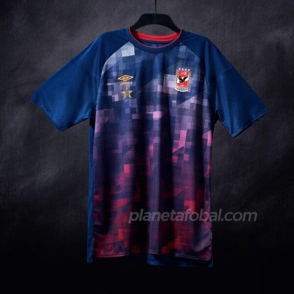 Camisetas Umbro del Al Ahly SC 2020/21 | Imagen Twitter Oficial