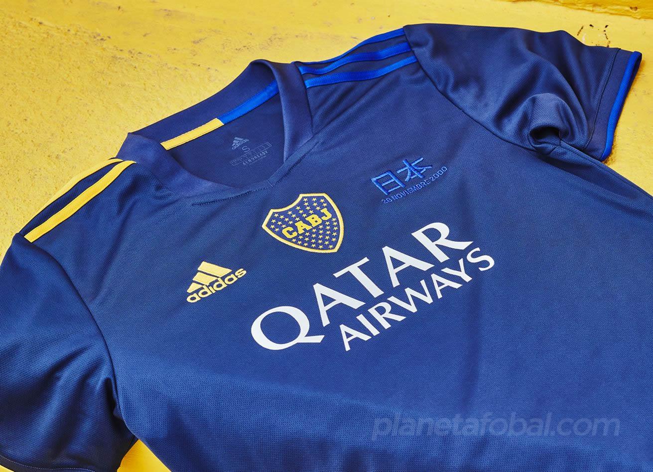 Cuarta camiseta adidas de Boca 2020/2021 | Imagen Web Oficial
