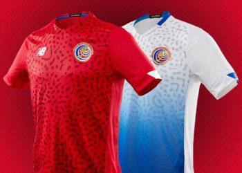Camisetas de Costa Rica 2020/2021 | Imagen New Balance