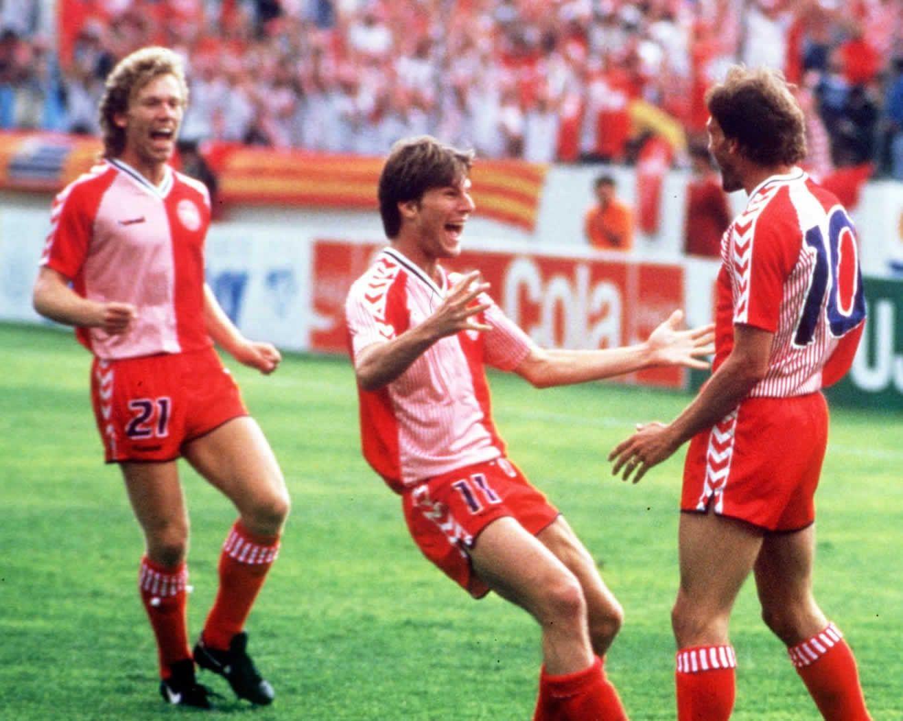 Camiseta de Dinamarca en el Mundial de México 1986 | Imagen FIFA