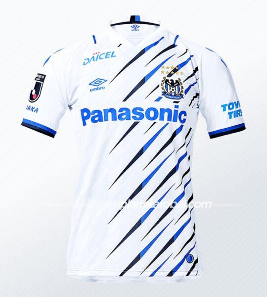 Camisetas Umbro del Gamba Osaka 2021 | Imagen Web Oficial