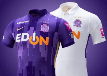 Camisetas Nike del Sanfrecce Hiroshima 2021 | Imagen Web Oficial