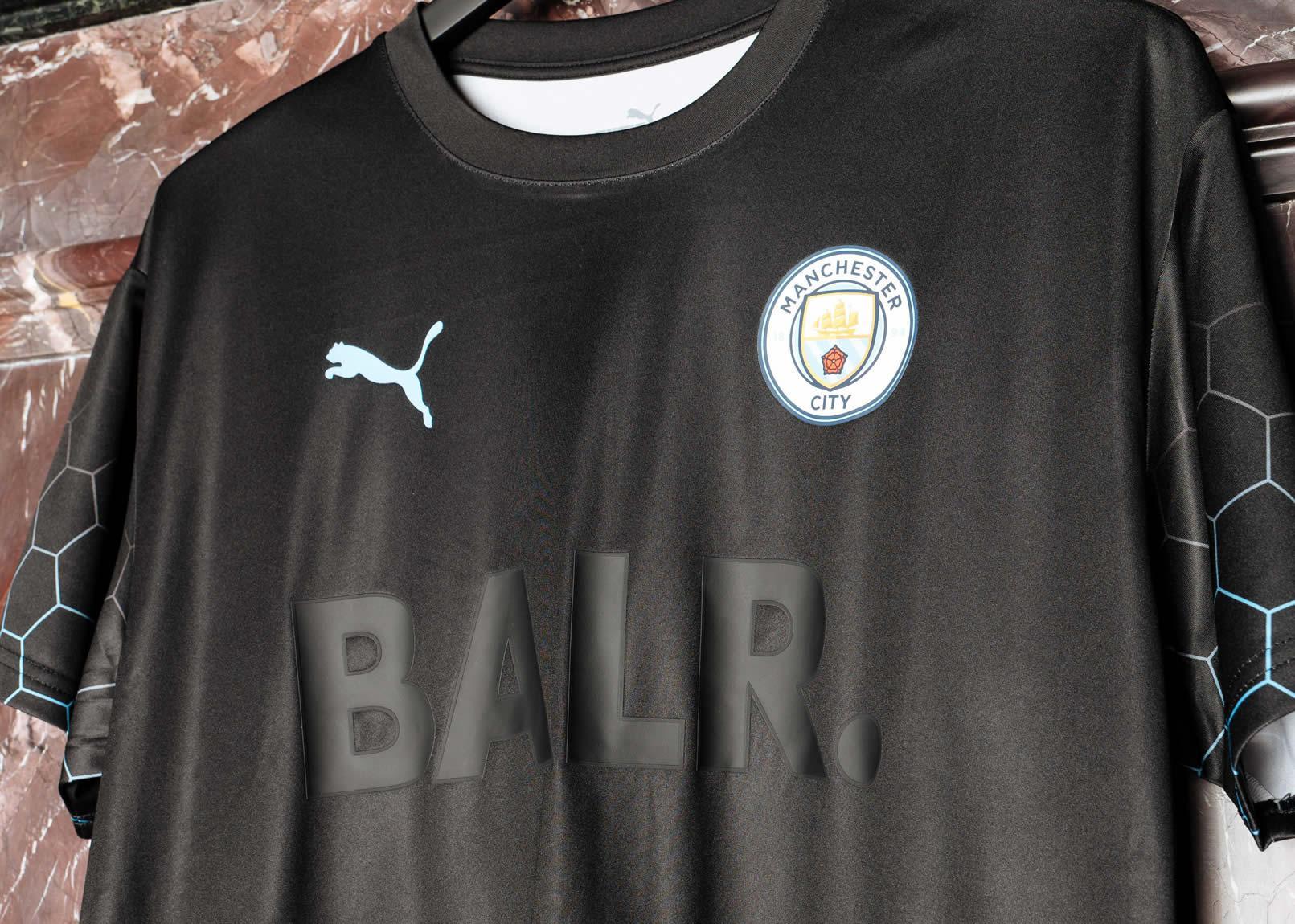 Camiseta Puma del Manchester City x BALR 2020