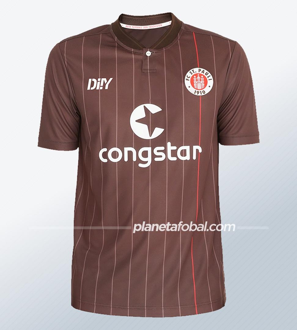 Camiseta DIIY del St. Pauli 2021/22   Imagen Web Oficial