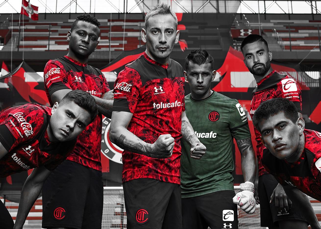 Camisetas Under Armour del Toluca 2021 | Imagen Twitter Oficial