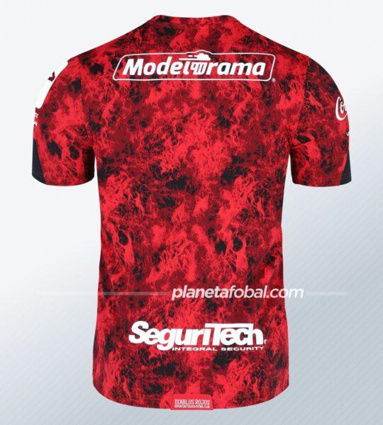 Camiseta local 2021 Under Armour del Toluca | Imagen Web Oficial
