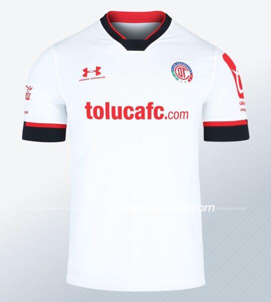 Camiseta visitante 2021 Under Armour del Toluca | Imagen Web Oficial