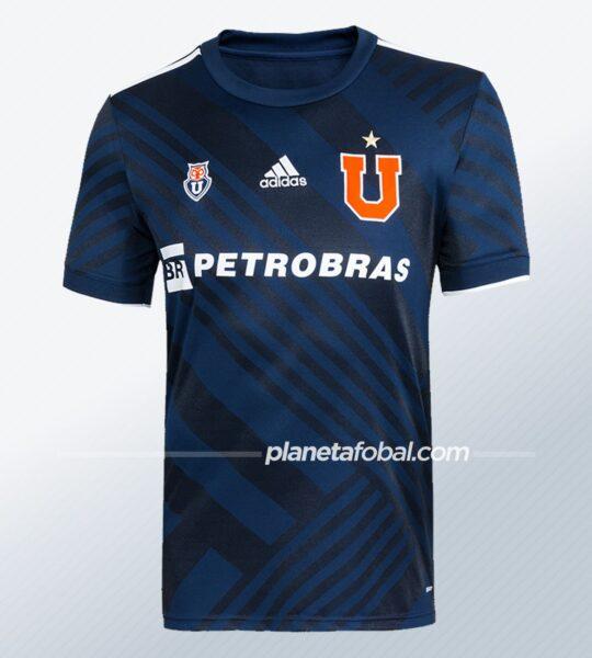 Camiseta adidas de la Universidad de Chile 2021 | Imagen Web Oficial