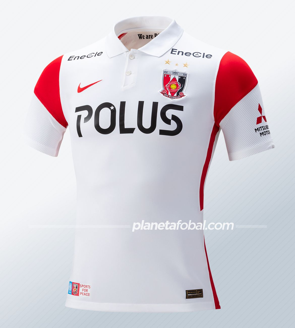 Camiseta alternativa Nike del Urawa Red Diamonds 2021