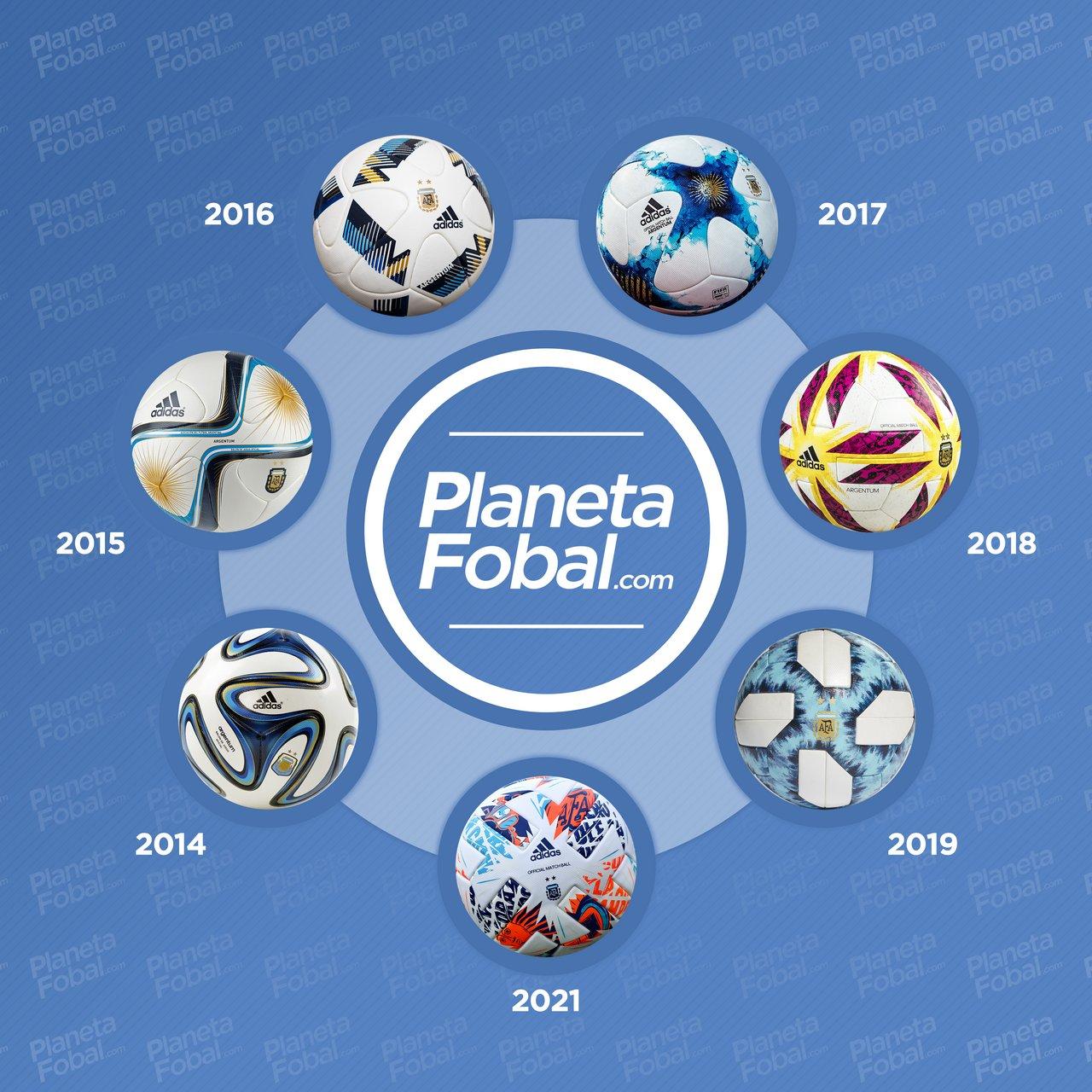 Últimos diseños del Argentum 2014 → 2021