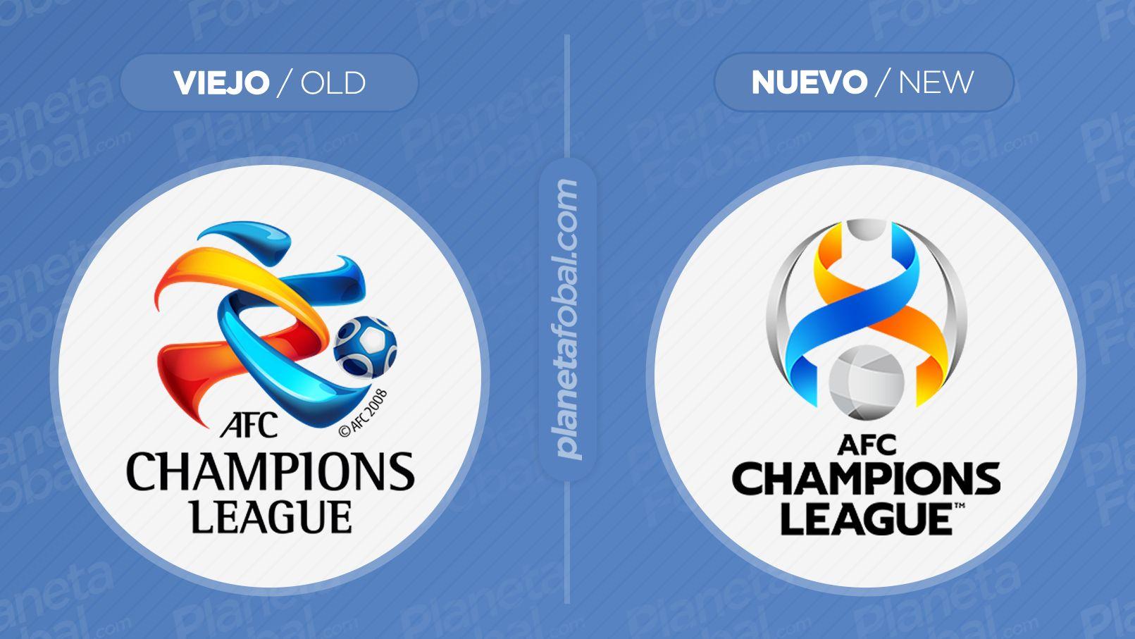 Antes y después del logo de la AFC Champions League | Imagen Web Oficial