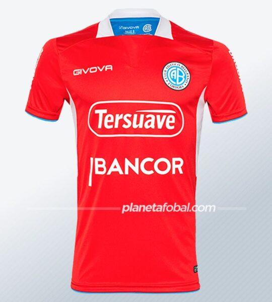 Camiseta alternativa Givova de Belgrano 2021 | Imagen Web Oficial