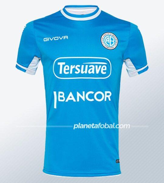 Camiseta local Givova de Belgrano 2021 | Imagen Web Oficial