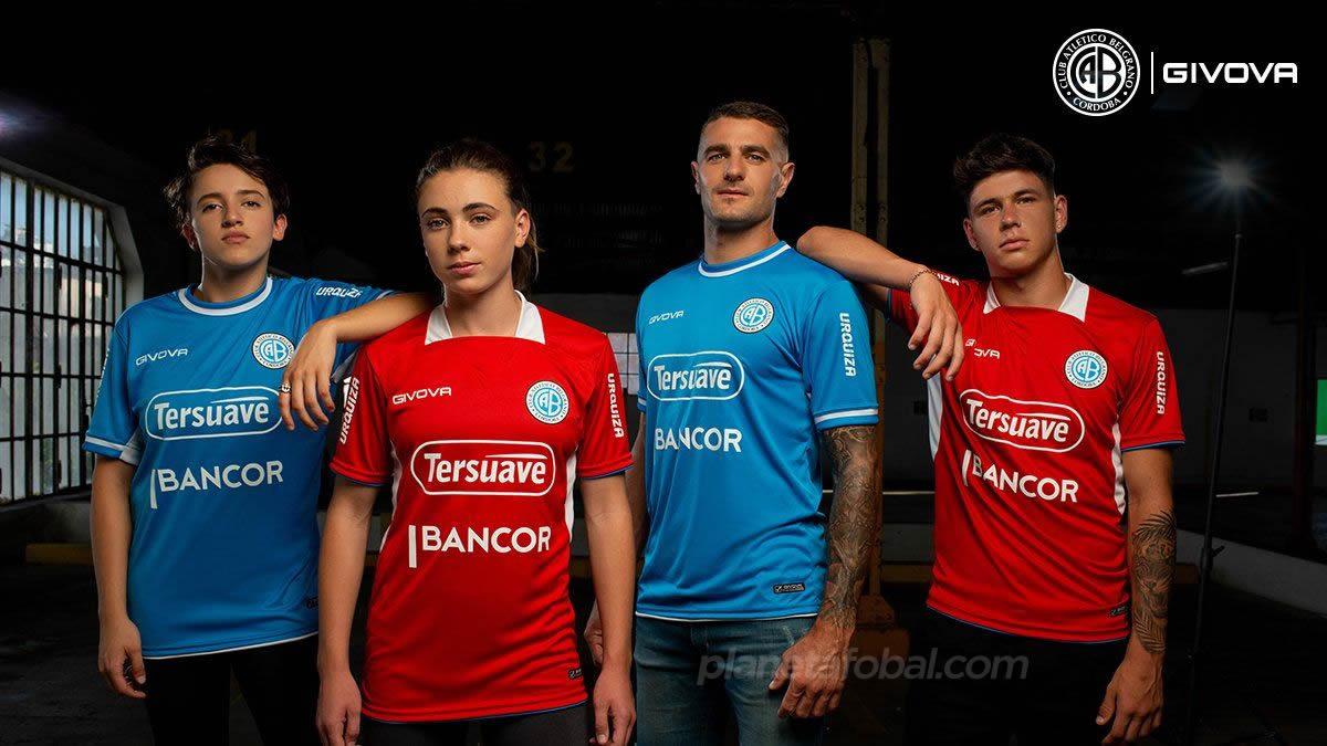 Camisetas Givova de Belgrano 2021 | Imagen Twitter Oficial
