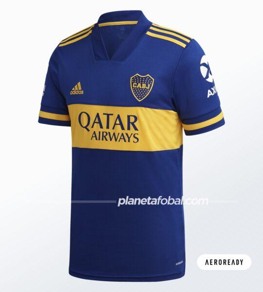 Camiseta local de Boca (AEROREADY) | Imagen adidas