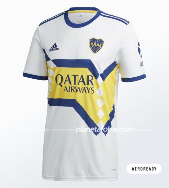 Camiseta visitante de Boca (AEROREADY) | Imagen adidas