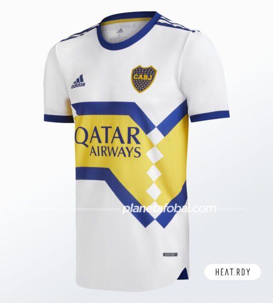 Camiseta visitante de Boca (HEAT.RDY) | Imagen adidas