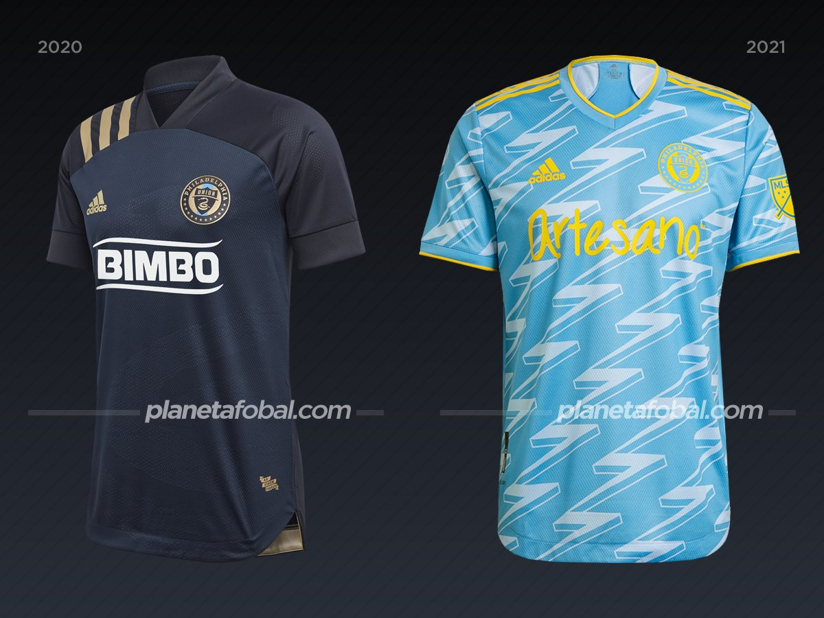 Philadelphia Union | Camisetas de la MLS 2021