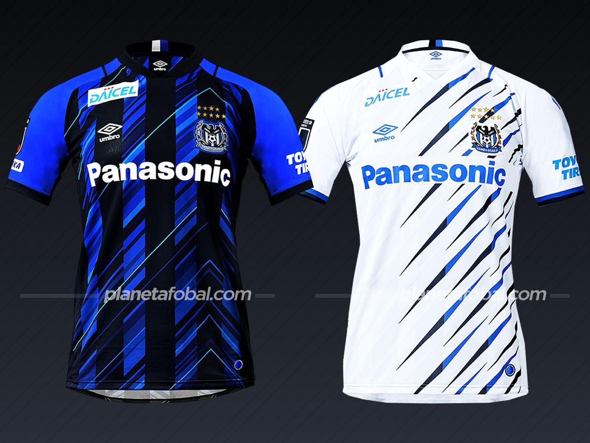 Gamba Osaka (Umbro) | Camisetas de la liga japonesa 2021