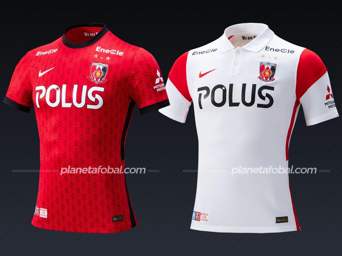 Urawa Red Diamonds (Nike) | Camisetas de la liga japonesa 2021
