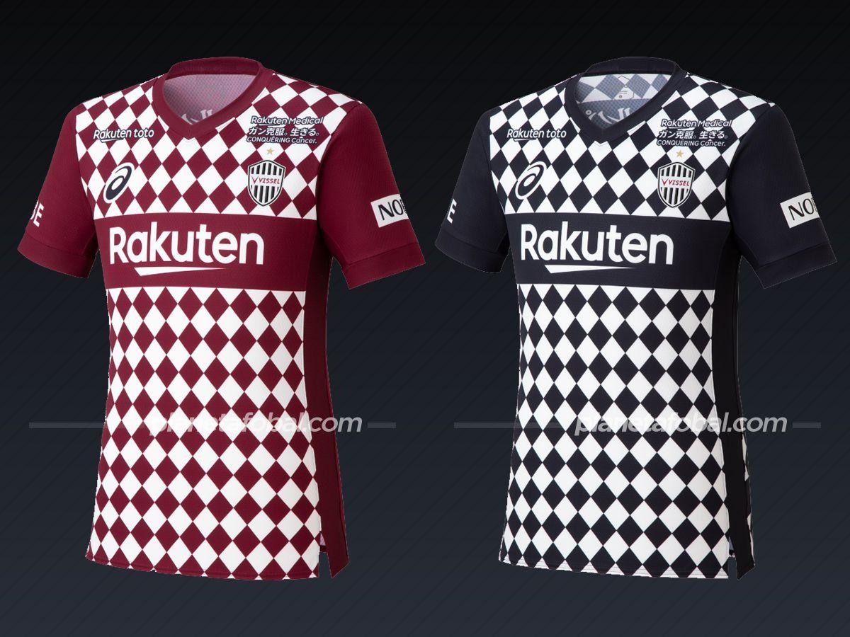 Vissel Kobe (Asics) | Camisetas de la liga japonesa 2021