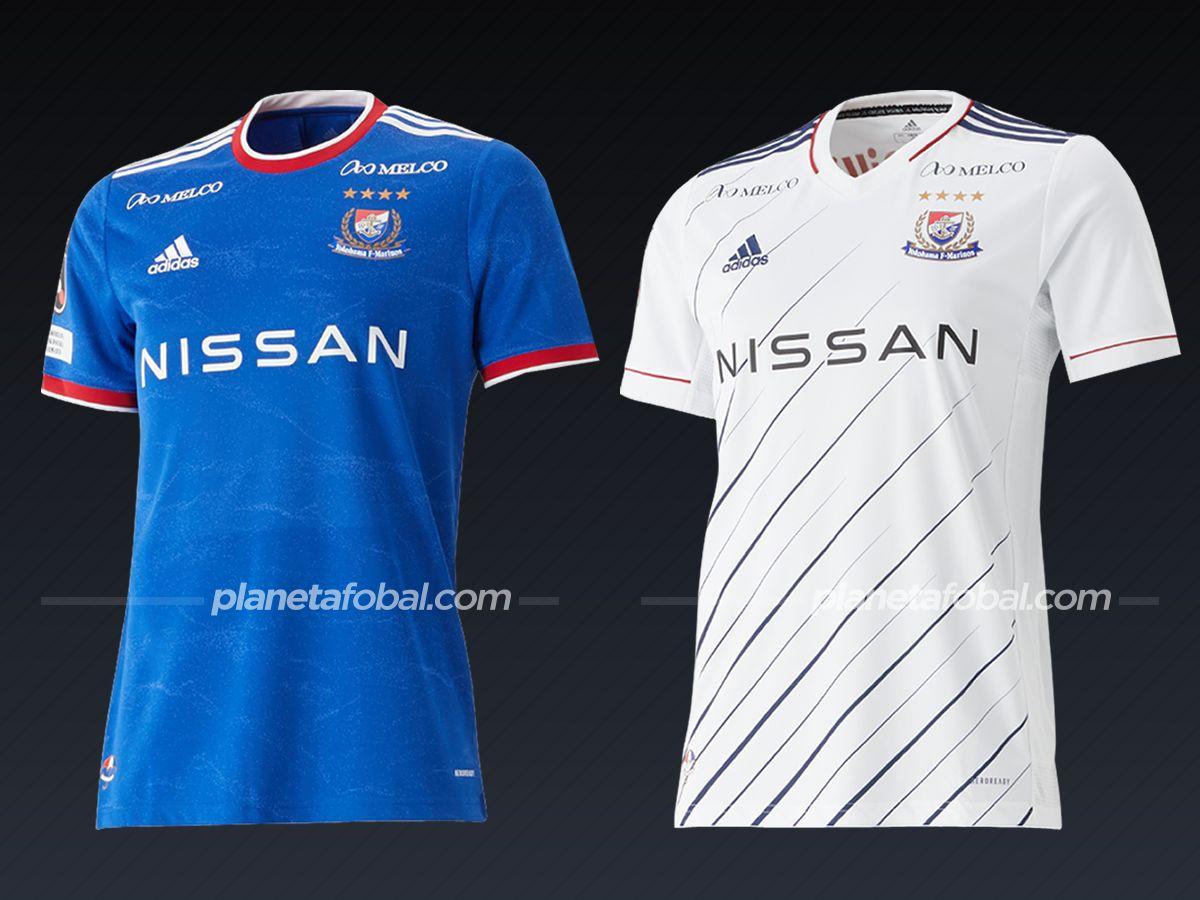 Yokohama F. Marinos (adidas) | Camisetas de la liga japonesa 2021