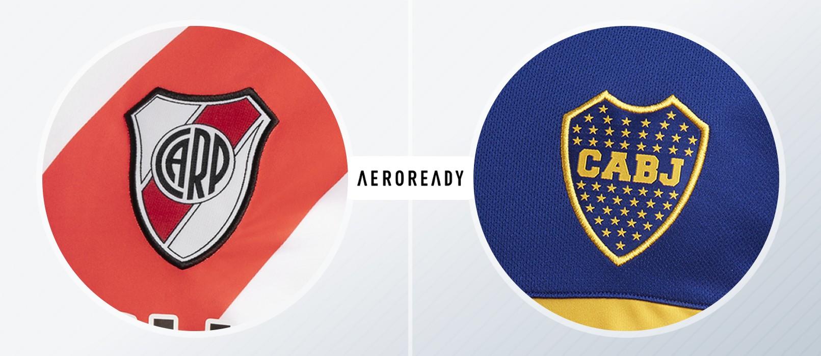 Tela y escudo versión AEROREADY | Imágenes adidas