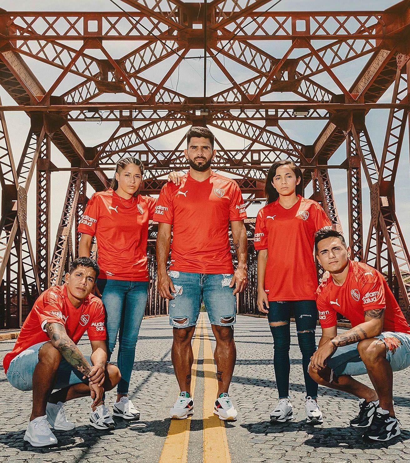 Camisetas Puma de Independiente 2021   Imagen Web Oficial