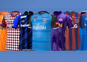 Camisetas de la J1 League de Japón 2021