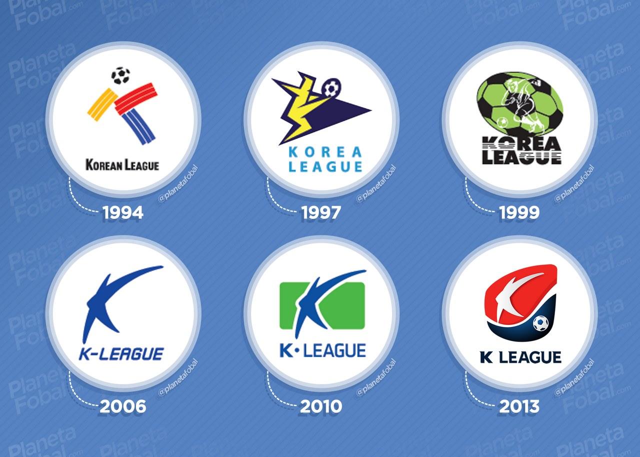 Logos de la K League 1994 a 2020 | Imágenes Web Oficial