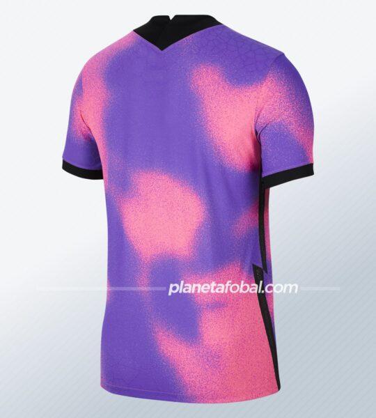 Cuarta camiseta del PSG 2021 x Jordan   Imagen Nike