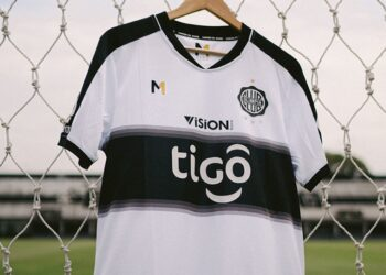 Camiseta Meta Sports del Club Olimpia 2021