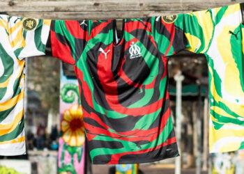 """Camisetas Puma del Olympique de Marsella """"OM África"""" 2021"""