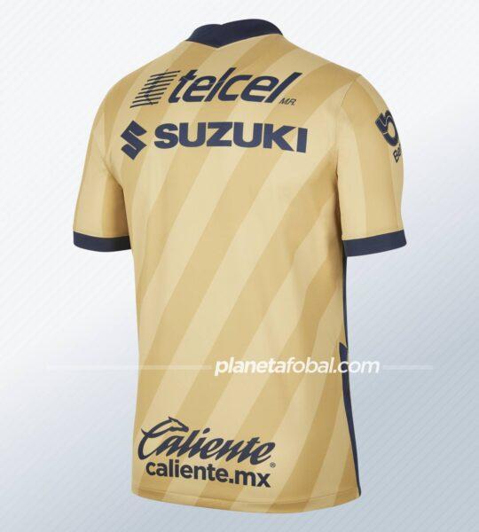 Tercera camiseta Nike de los Pumas de la UNAM 2021