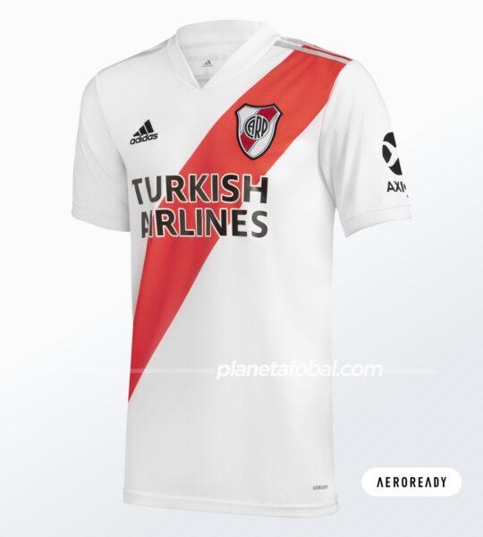 Camiseta local de River (AEROREADY) | Imagen adidas