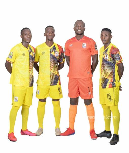 Camisetas Umbro de Uganda 2021 | Imagen FUFA