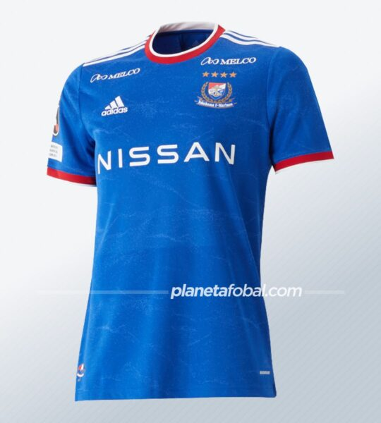 Camiseta titular adidas del Yokohama F. Marinos 2021 | Imagen Web Oficial