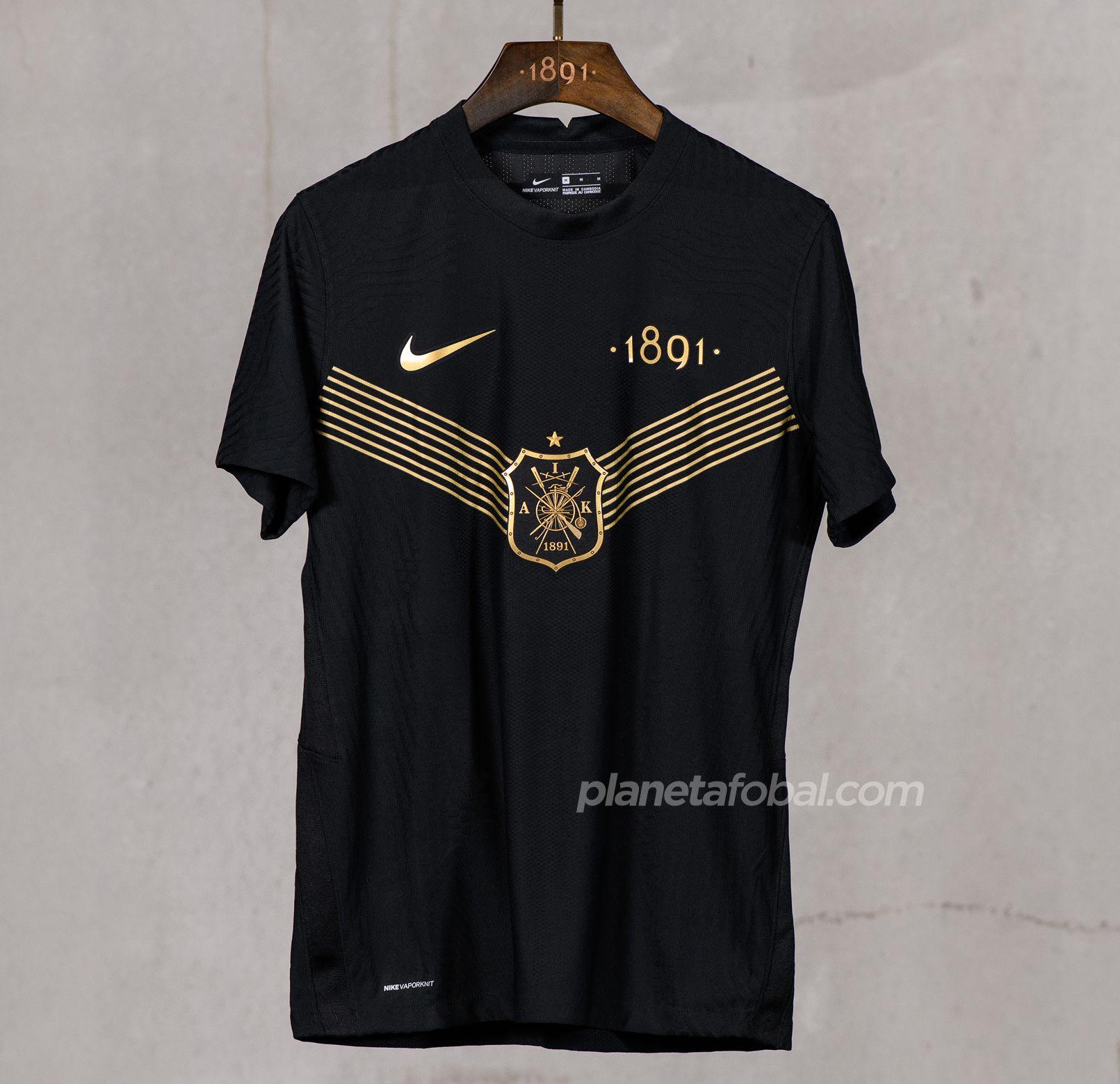 "Camiseta Nike del AIK Fotboll ""130 aniversario"""