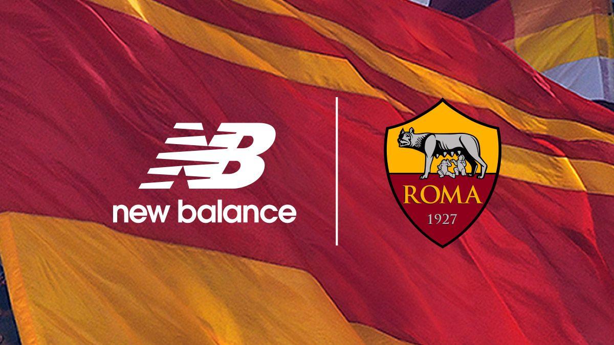 New Balance es el nuevo sponsor técnico de la AS Roma