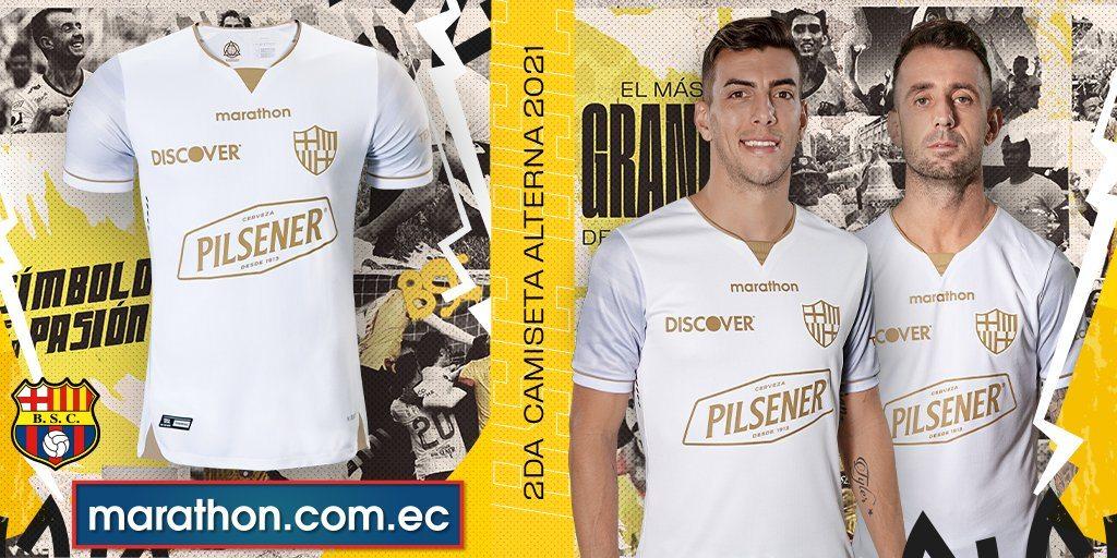 Tercera camiseta del Barcelona SC 2021 | Imagen Marathon