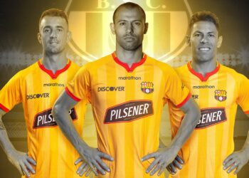 Camiseta Marathon del Barcelona SC 2021