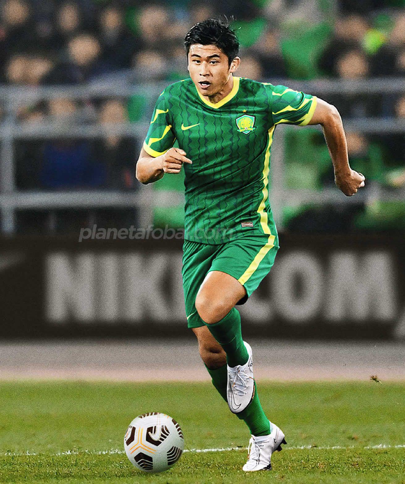 Camiseta titular del Beijing Guoan 2021 | Imagen Nike